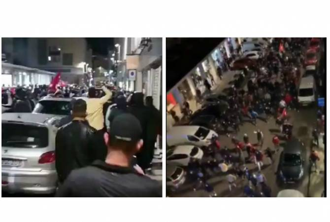 Photo of Толпа турок ночью на улицах Лиона, угрожая армянам, устроила беспорядки