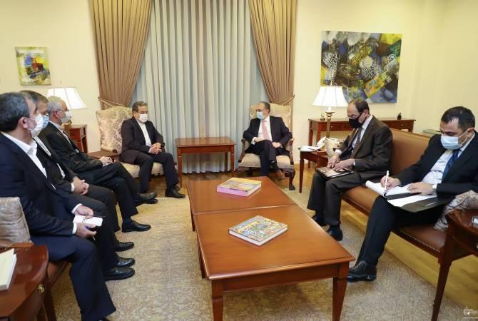 Photo of ՀՀ ԱԳ նախարարը Իրանի փոխարտգործնախարարին հայտնել է ԵԱՀԿ ՄԽ համանախագահության ձևաչափով աշխատանքները շարունակելու մասին