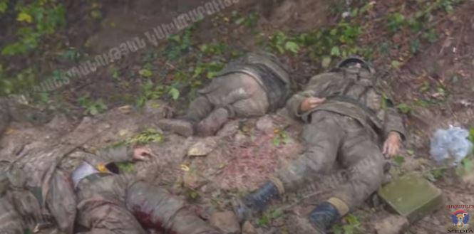 Photo of Ոչնչացված ադրբեջանցի զինծառայողները. ԱՀ ՊԲ (18+)