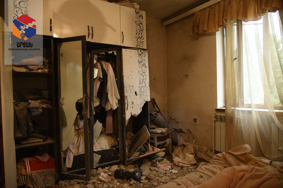 Photo of Հադրութ քաղաքի հրետակոծության հետևանքները