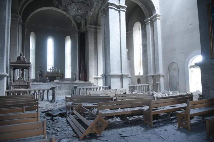 Photo of Ղազանչեցոց եկեղեցու թիրախավորման հետևանքները լուսաբանելիս ռուս լրագրողը վիրավորվել է