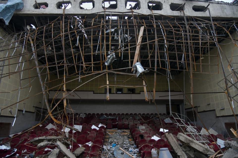Photo of Շուշիի Մշակույթի տան ավերված վիճակը