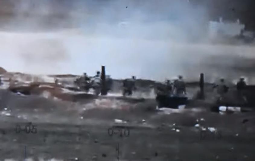 Photo of В результате ответного огня армянской стороны азербайджанцы бегут со своих позиций и уничтожаются