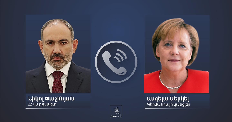 Photo of Премьер-министр Никол Пашинян провел очередной телефонный разговор с канцлером Германии Ангелой Меркель
