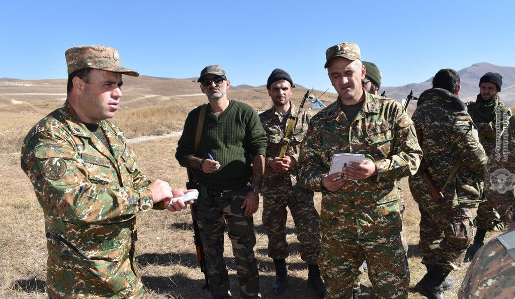 Photo of Զինված ուժերի զորավարժարաններում շարունակվում են Հայրենիքի պաշտպանությանը զինվորագրված կամավորականների մարզումները