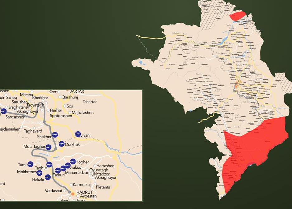 Photo of Իրավիճակը ռազմաճակատում. քարտեզ