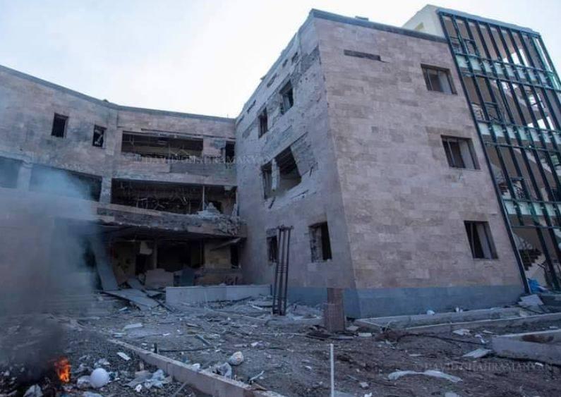 Photo of Թշնամին շարունակում է թիրախավորել Արցախի խաղաղ բնակավայրերը
