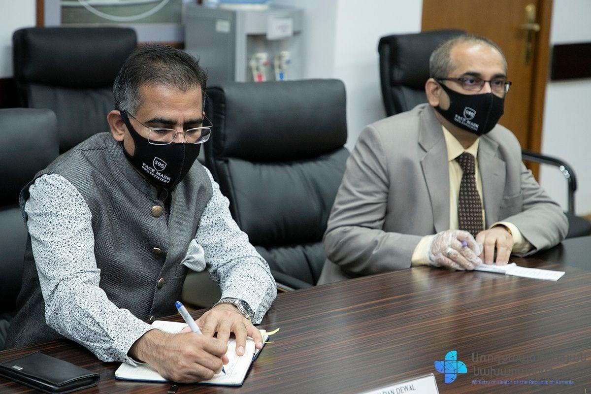 Photo of Առողջապահության նախարար Արսեն Թորոսյանը հանդիպել է Հայաստանում Հնդկաստանի արտակարգ և լիազոր դեսպան Կիշան Դան Դեվալի հետ