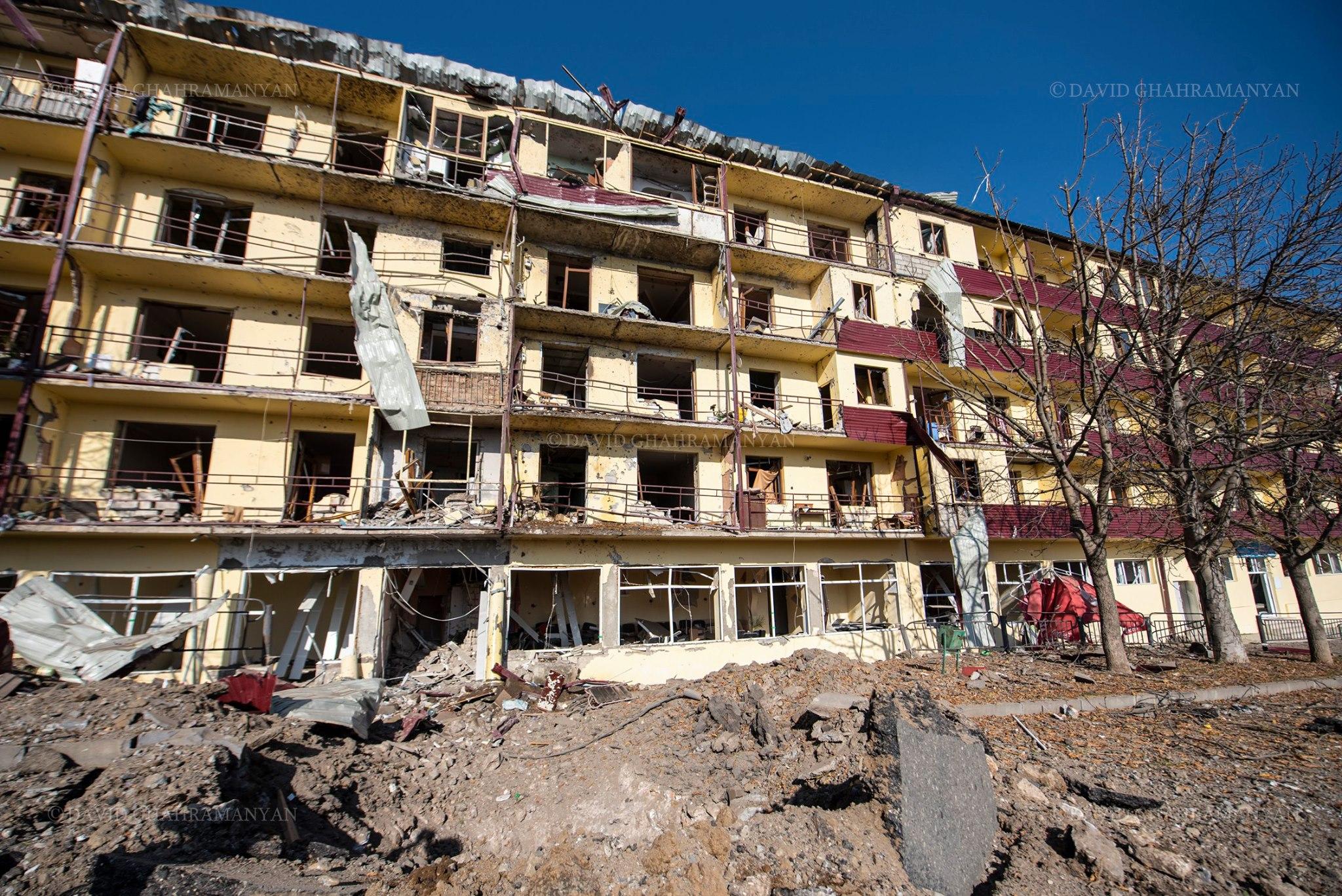 Photo of Ադրբեջանի հրթիռակոծության հետեւանքով կան քաղաքացիական վիրավորներ