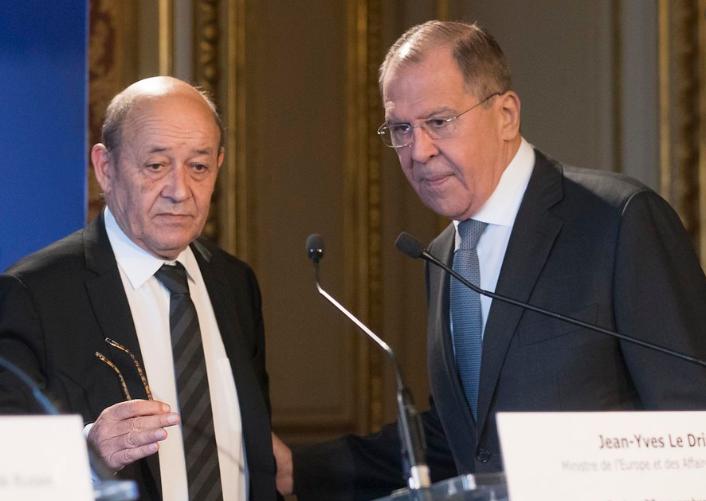 Photo of ՌԴ եւ Ֆրանսիայի ԱԳՆ ղեկավարները քննարկել են Լեռնային Ղարաբաղի հակամարտության գոտում իրավիճակի զարգացումը