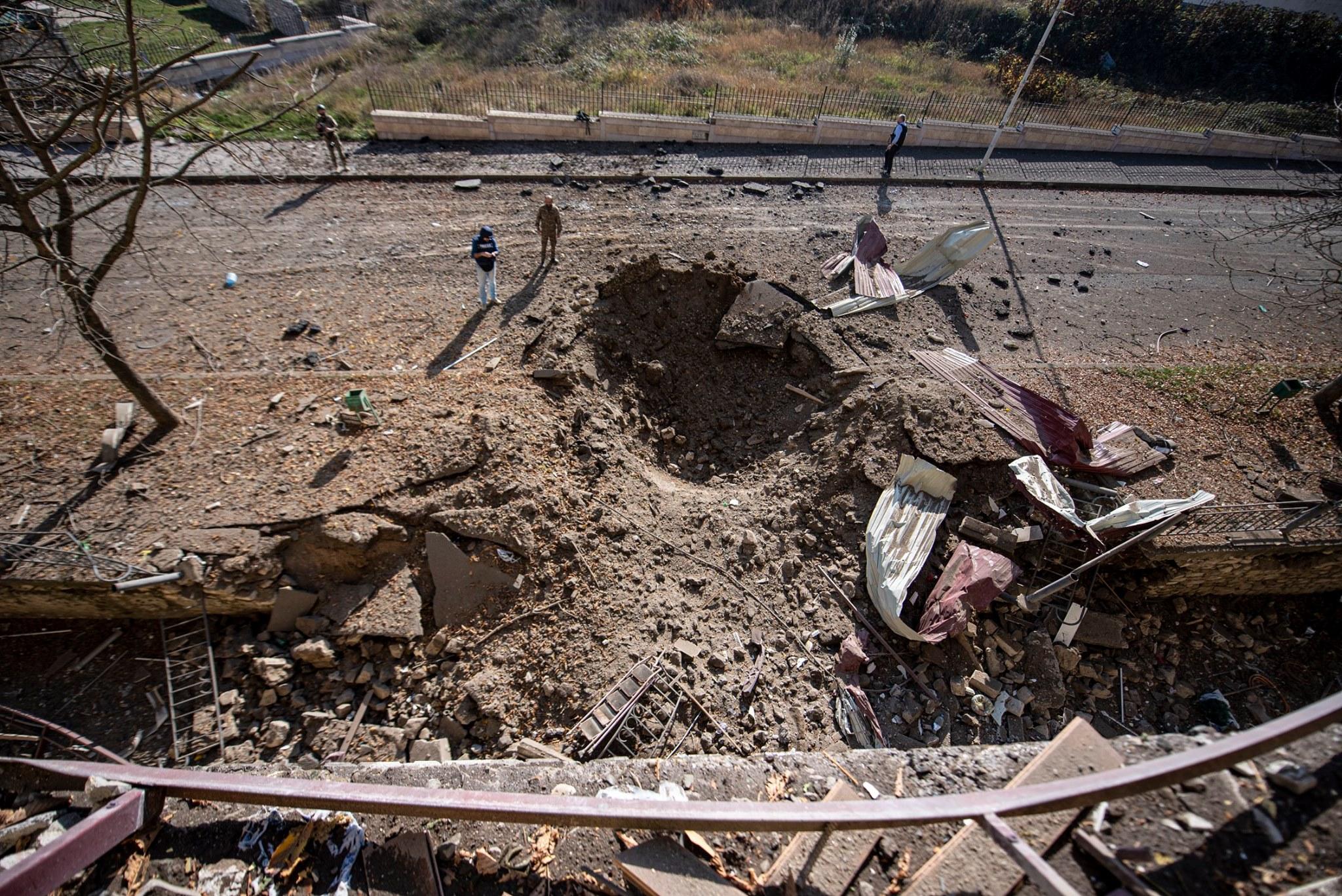 Photo of Օրվա ընթացքում Արցախի խաղաղ բնակավայրերը եղել են  թշնամական ուժերի թիրախում