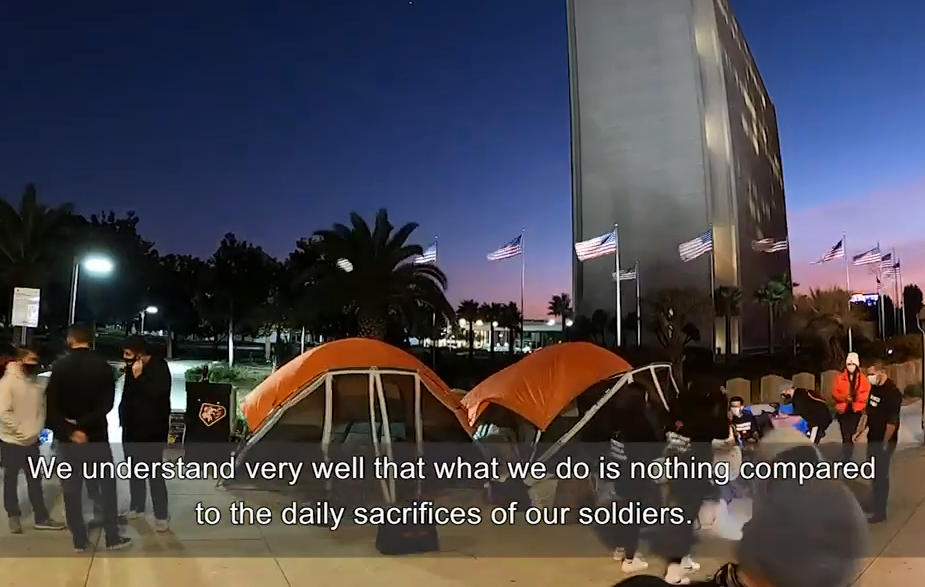Photo of Հանուն Արցախի անկախության․ ԱՄՆ-ում հայերը 7-օրյա հացադուլ են կազմակերպել