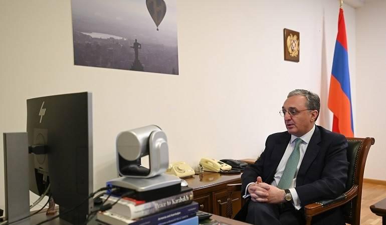 Photo of Զոհրաբ Մնացականյանի տեսազրույցը Հունաստանի ԱԳ նախարար Նիկոս Դենդիասի հետ