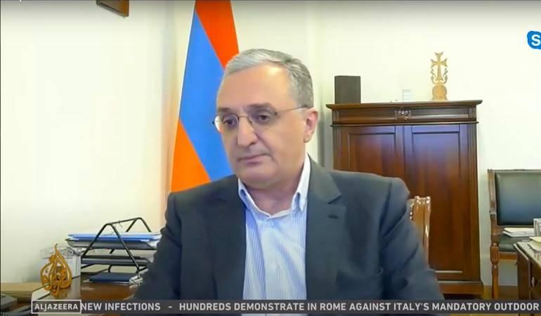 Photo of ԱԳ նախարար Զոհրաբ Մնացականյանի հարցազրույցը «Ալ-Ջազիրա»-ին