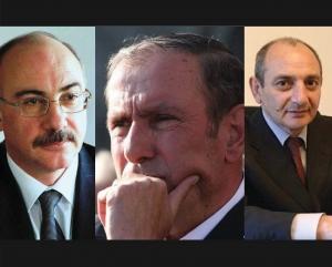 Photo of Левон Тер-Петросян встретился с экс-президентами Арцаха Аркадием Гукасяном и Бако Саакяном