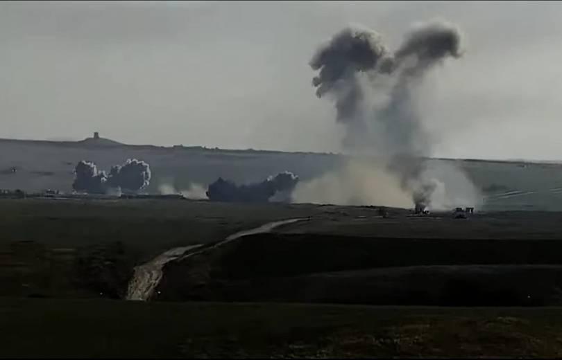 Photo of Уничтожение опорных пунктов и автоколонны противника. Видео Армии обороны Арцаха