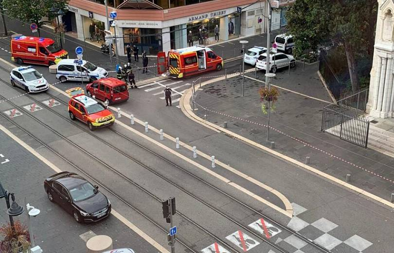 Photo of Ահաբեկչություն Ֆրանսիական Նիս քաղաքում. անհայտ անձը հարձակվել է մարդկանց վրա, կա 3 սպանված