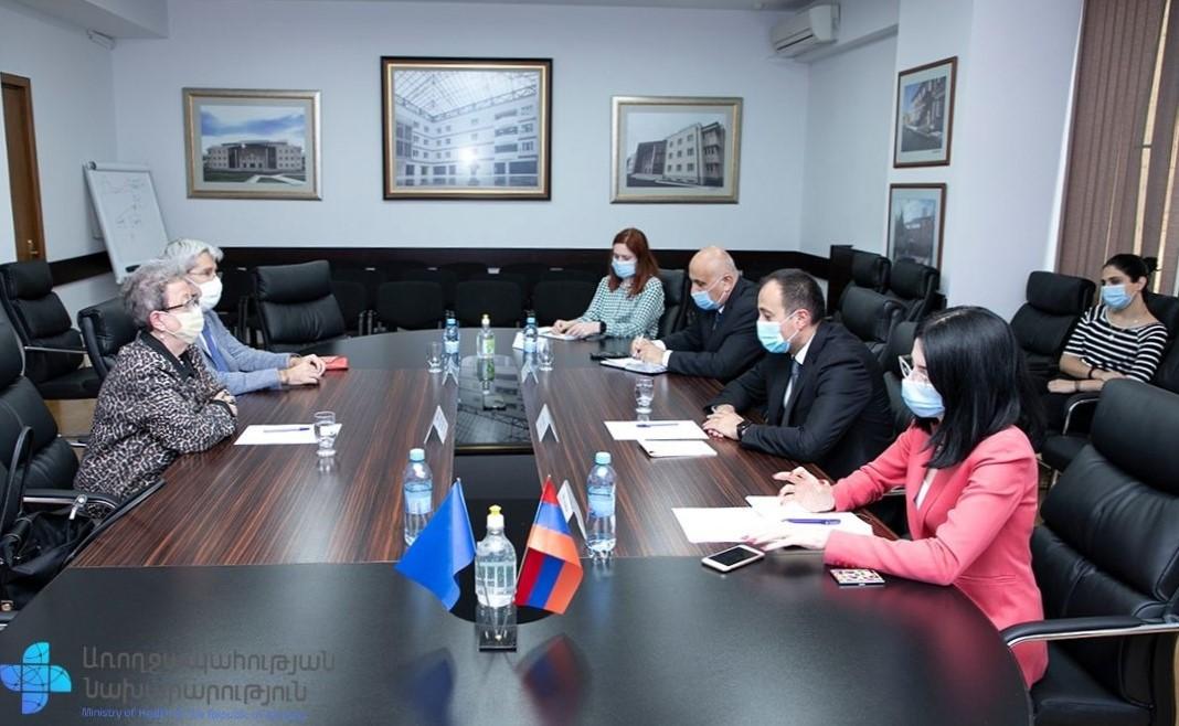 Photo of Արսեն Թորոսյանը հանդիպել է Հայաստանում ԵՄ պատվիարկության ղեկավարին