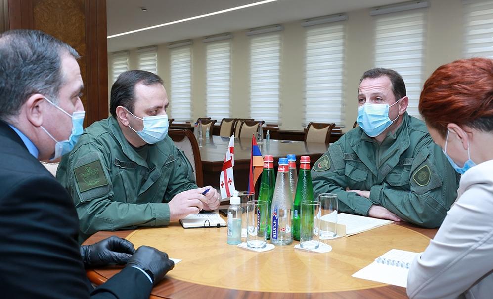 Photo of ՀՀ պաշտպանության նախարարն ընդունել է Վրաստանի դեսպանին