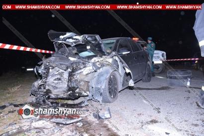 Photo of Խոշոր ավտովթար Շիրակի մարզում. բախվել են BMW-ն ու Volkswagen-ը, կան վիրավորներ