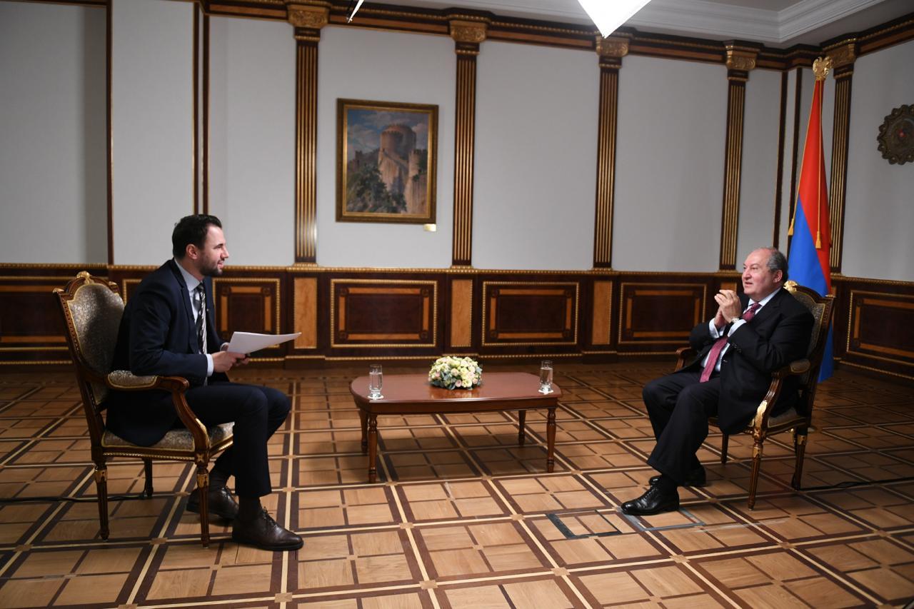 Եթե Թուրքիան դուրս գա, կարող եմ վստահեցնել, որ հրադադարը կայուն կլինի և երկար ժամանակ կպահպանվի. Արմեն Սարգսյանի հարցազրույցը RT հեռուստաընկերությանը