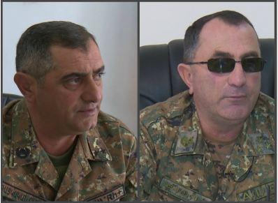 Photo of Генерал-майор Карен Шакарян и подполковник Унан Айрумян удостоены высшего звания «Герой Арцаха»