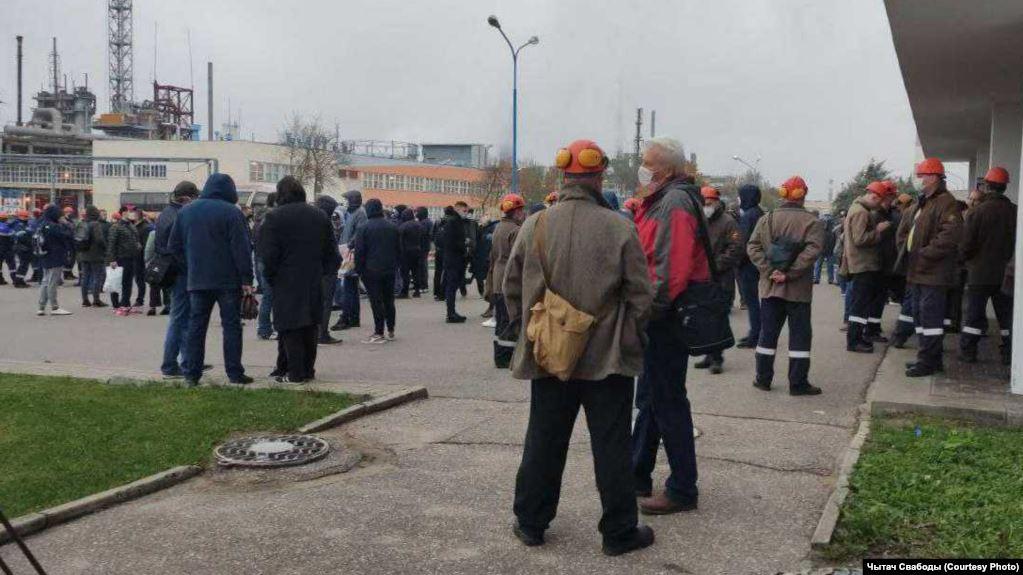 Photo of В Беларуси – национальная забастовка крупных предприятий