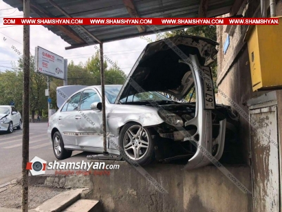 Photo of Խոշոր ավտովթար Երևանում. բախվել են Nissan-ն ու Mercedes-ը. վերջինս բախվել բնակչի տան պատին. կան վիրավորներ