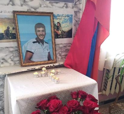 Photo of Առաջնագծում զոհվել է «Շիրակ» ֆուտբոլային ակումբի սանը
