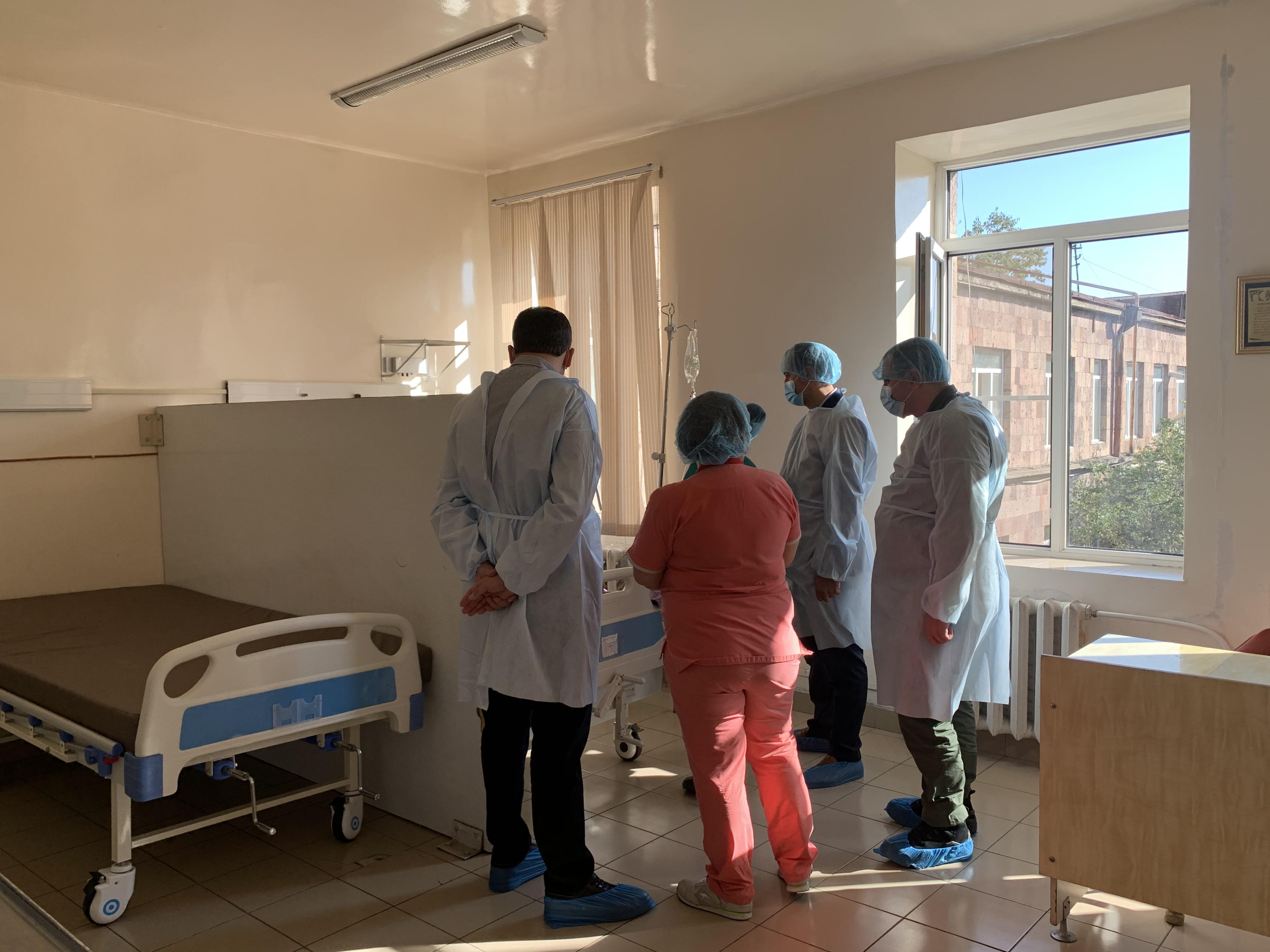 Photo of Առողջապահության նախարարն այսօր այցելել է Սյունիքի մարզ