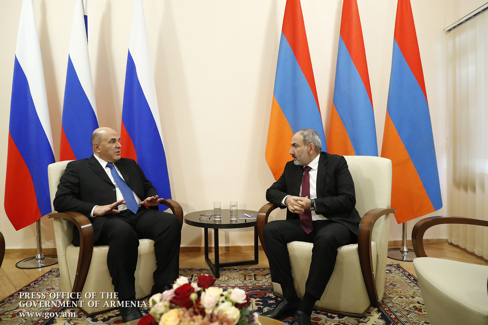 Photo of Երևանում կայացել է Նիկոլ Փաշինյանի և Միխայիլ Միշուստինի հանդիպումը