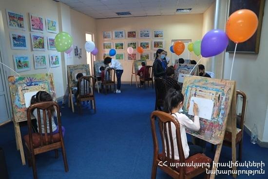 Photo of ԱԻՆ Մշակույթի կենտրոնը հյուրընկալել է արցախցի երեխաներին