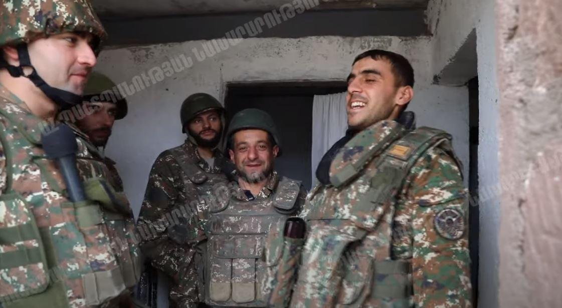 Photo of ՊԲ խիզախ զինծառայողները: Կադրեր առաջնագծից