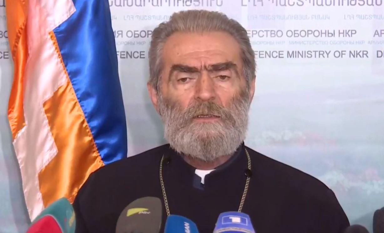 Photo of Արցախի թեմի առաջնորդ Պարգև արքեպիսկոպոս Մարտիրոսյանի ճեպազրույցը