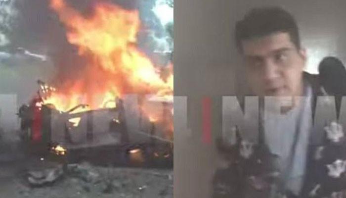 Photo of Բացառիկ կադրեր Մարտունուց. 24News-ի լրագրողը վիրավորվում է ադրբեջանական կրակից