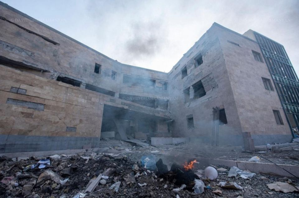 Photo of Заявление МИД Республики Арцах о преднамеренном ударе по медицинским учреждениям в Степанакерте
