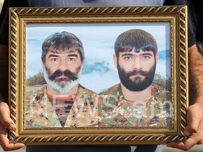 Photo of Արցախում զոհված Ռուստամ Գասպարյանին և որդուն հողին հանձնեցին հայրենի Ջանֆիդա գյուղում