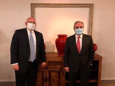 Photo of Глава МИД Армении встретился с представителем Госдепа