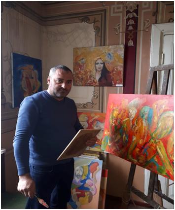 Photo of Воззвание к евреям мира художника, рисующего Геноцид и Холокост