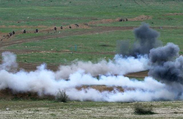 Photo of Խախտելով հումանիտար հրադադարի պայմանավորվածությունը, ադրբեջանական զինված ուժերը հարավային ուղղությամբ ձեռնարկում են գրոհներ՝ կիրառելով զրահատեխնիկա և հրթիռահրետանային միջոցներ