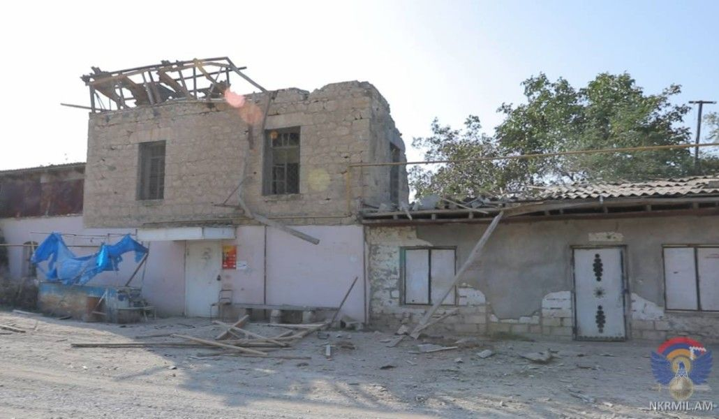 Photo of Последствия обстрела мирных населенных пунктов в Арцахе  вооруженными силами Азербайджана