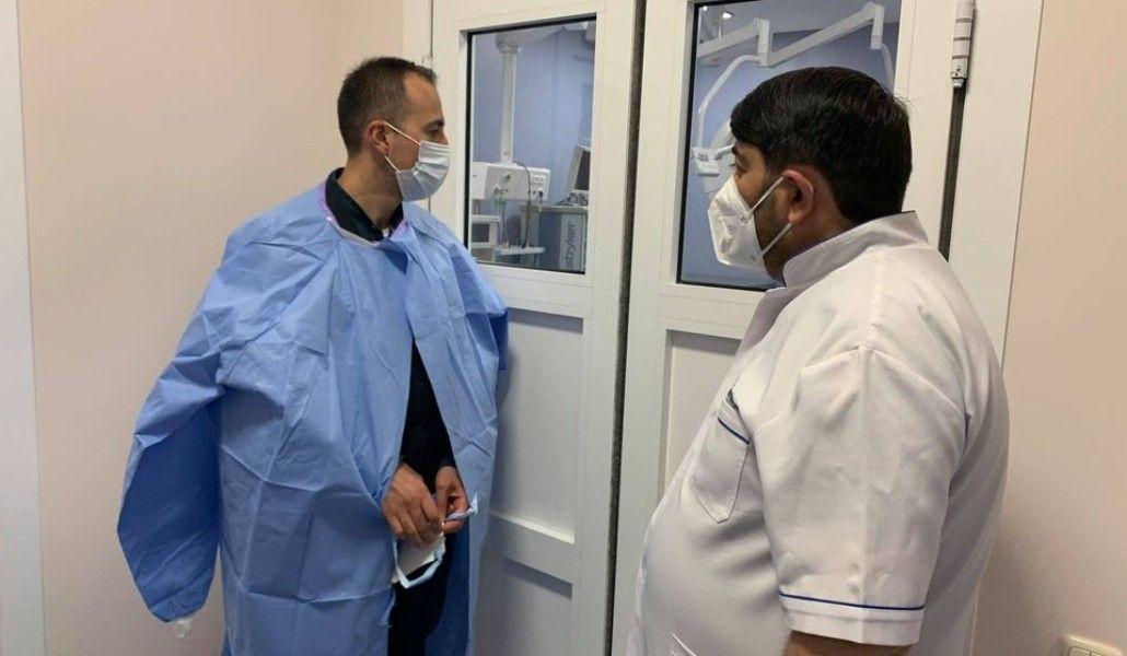 Photo of Նախարարն այցելել է վիրավորների բուժմամբ զբաղվող բժշկական կենտրոններ