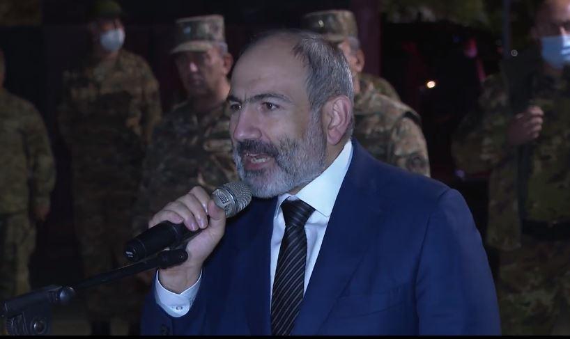 Photo of Նիկոլ Փաշիյանի  ելույթը հայրենիքի պաշտպանությանը զինվորագրված գումարտակի առաջ