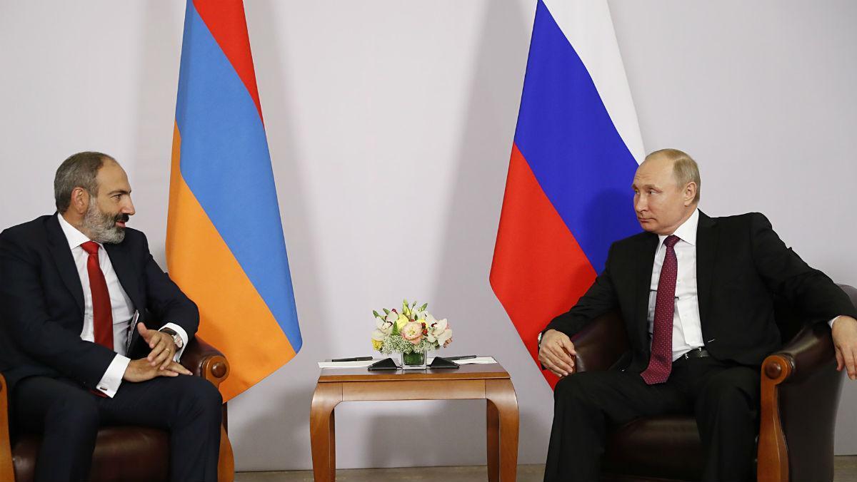 Photo of Վարչապետ Փաշինյանը հեռախոսազրույց է ունեցել Վլադիմիր Պուտինի հետ