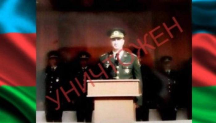 Photo of Ոչնչացվել է Ադրբեջանի ԶՈՒ փոխգնդապետը՝ «Կոբրա» մականվամբ