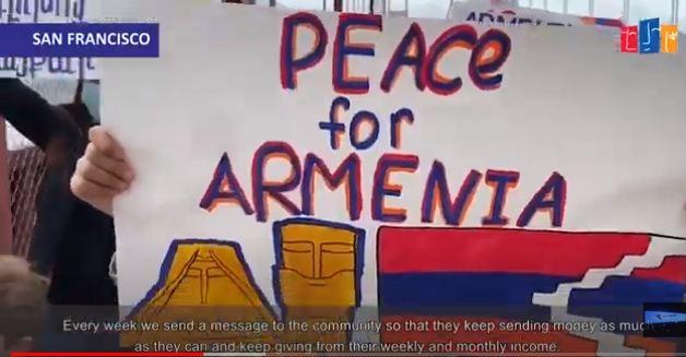 Photo of Սան Ֆրանցիսկոյի ծովածոցի հայ համայնքը Հայաստանի ու Արցախի կողքին է. բողոքի ցույցերը շարունակական են լինելու