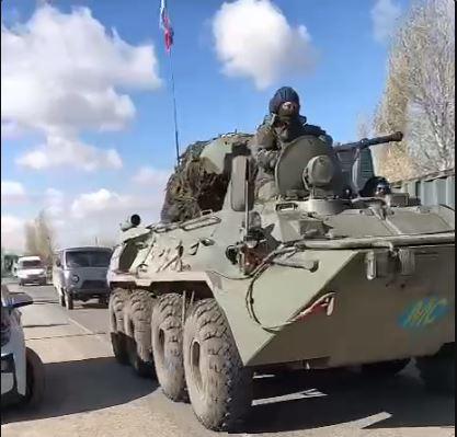 Photo of Российские БТР-ы заходят в Карвачарский район