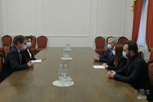 Photo of «Իմ քայլը» խմբակցության անդամները հանդիպել են Հելեն Ֆեյզիի և Ժոնաթան Լաքոտի հետ