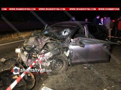 Photo of Ողբերգական ավտովթար Կոտայքի մարզում. բախվել են Nissan-ն ու Opel-ը. կա 2 զոհ