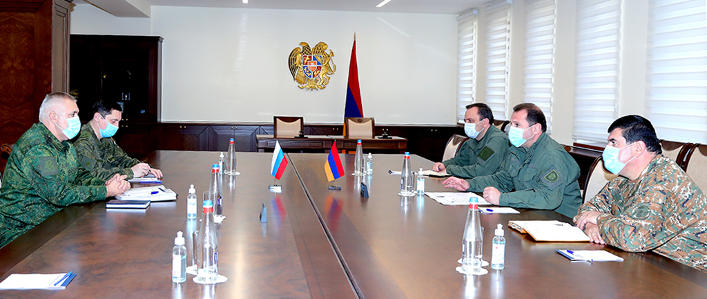 Photo of Քննարկվել են խաղաղապահ առաքելության կազմակերպման և իրականացման հարցեր